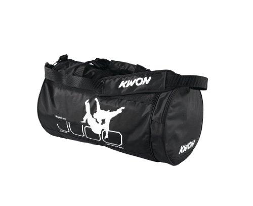 KWON 5016001 Judo - Bolsa de Deporte (48 x 24cm), Color Negro