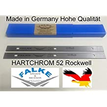 doppelschneidige Einweg-Hobelklingen Metabo HC260C 260 x 18,6 x 1,0 mm Hobelmesser Record Power PT260 f/ür Elektra Beckum HC260
