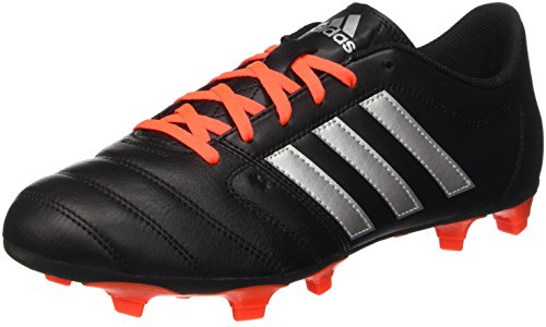 adidas Gloro 16.2 Fg, Entraînement de football homme Noir (Core Black/Silver Metallic/Solar Red)