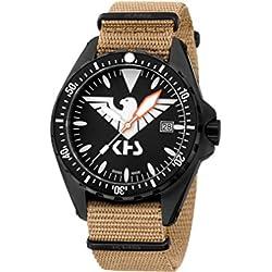 KHS Mens Watch MissionTimer 3 Eagle One KHS.MTE.NT