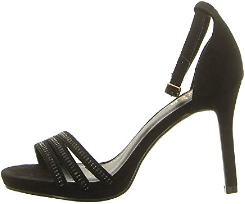 BULLBOXER Sandalette Farbe: Schwarz 2018 Letztes Modell  Mode Schuhe Billig Online-Verkauf