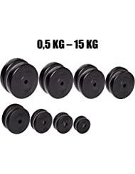 Par de discos de pesas C.P. Sports de entre 0,5 kg y 15 kg