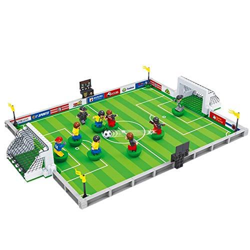H-sunshy Set Fútbol Sobremesa Juego Mesa de Fútbol con Jugadores Móviles Futbolín para Niño +3 Años y Adultos