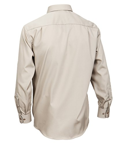 CASA Moda - Comfort Fit - Bügelfreies Herren Business Uni Langarm Hemd (006050) Taupe (600)
