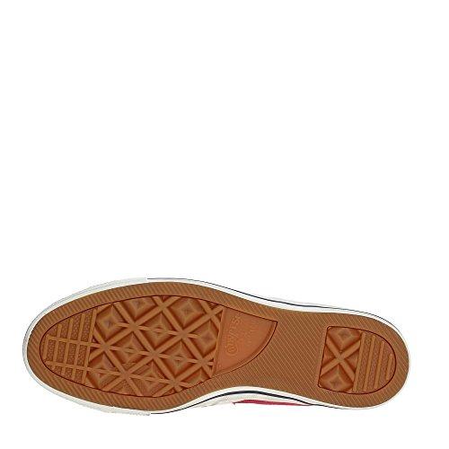 Converse Sneakers Uomo Star Player 160923C/GARNET/EGRET/NAVY, Distressed Ox,Colore Rosso In Tela, Nuova Collezione Primavera Estate 2018 red