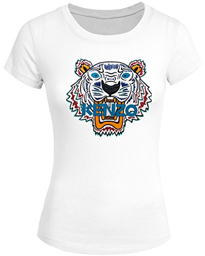kenzo 2016 For Women's Printed Short Sleeve tops T-shirts
