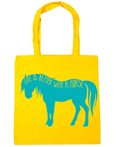 Hippowarehouse ,  Damen Strandtasche Gelb