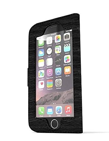 iwallie classique en cuir PU pour iPhone 6et 6S–wallet-case unifier votre vie digital-analogue. accès sans coutures et protection élégante pour votre