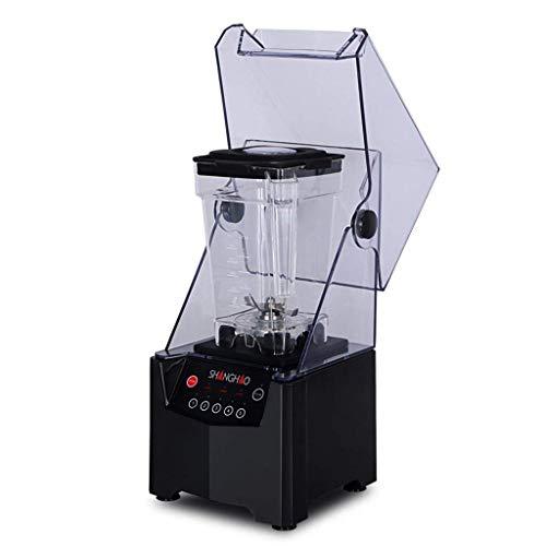 Máquina para Fabricar Hielo en la Arena Aislamiento de Sonido Comercial Cocinar Mezclador Tienda de Té Cubierta para Cinturón Batido Licuadora Hielo Exprimidor, O&YQ