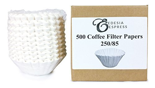 500 Filtros de Papel de Café Comercial 1.6l para Bravilor, Technivorm, Coffee Queen etc