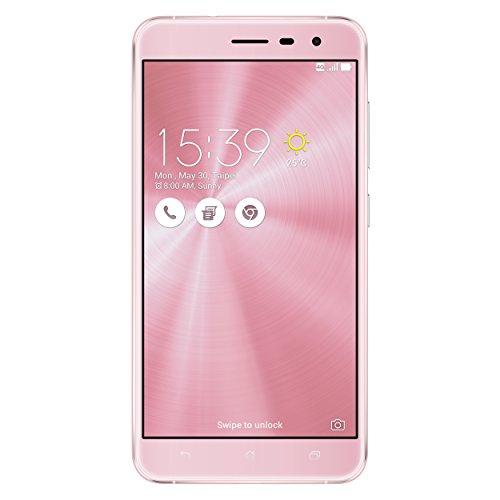 ASUS ZE552KL Zenfone '3 DS' (dual sim 32GB, 4GB RAM, Kamera 16MP), 13,97 cm (5,5 Zoll) rosa