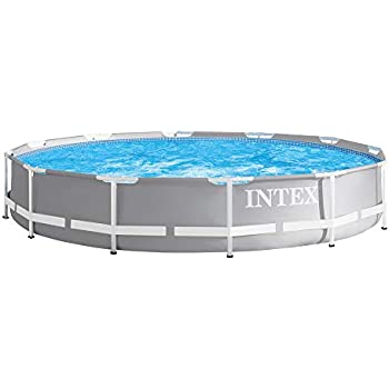 Intex 28202uk 10ft x 30in metal frame swimming pool with - How many litres in a swimming pool ...
