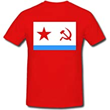 Bandiera sovietico marine - T-Shirt #107
