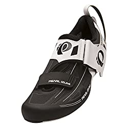 Pearl Izumi Mens Tri Fly Elite V6 Cycling-Footwear, White/Black, 45.5 EU/11.2 D US