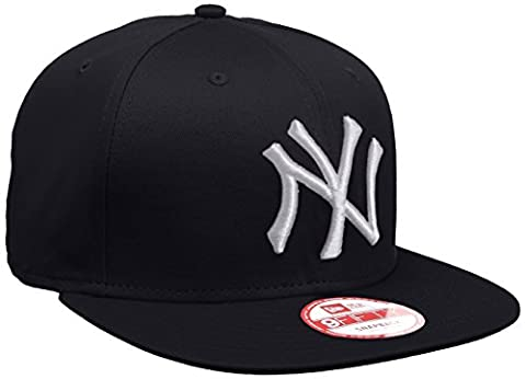 New Era Men's MLB 9Fifty N Yankees 9Fifty Snapback Baseball Cap, Blue (Team), Large (Manufacturer
