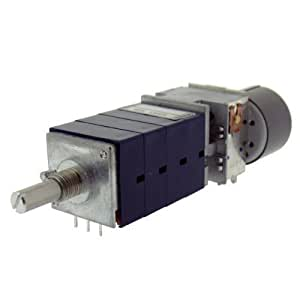 ALPS 50 log k avec moteur 4 prises pivotant-poti rK27114MC 50KAx4 ohms logarithmique 6 mm