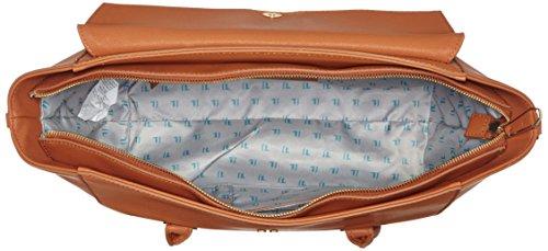 TRUSSARDI JEANS by Trussardi 75b492xx53, sac à main Marrone (Cuoio)