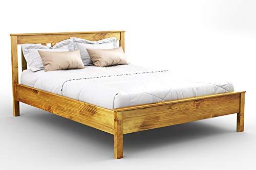 5c93ee63d3e Wooden Pine King Size Bed Frame