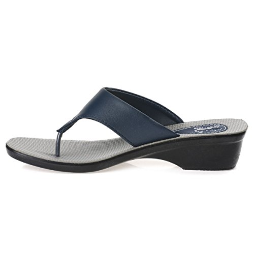 baf9b9fe9abe Paragon Solea T-Strap Sandals For Women (Blue) Best Deals With Price ...