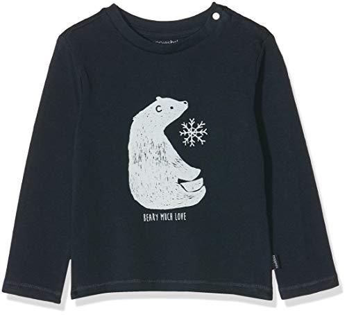 Noppies Baby-Jungen B Tee Regular ls Burbank T-Shirt, Blau (Dark Sapphire P208), (Herstellergröße: 86)