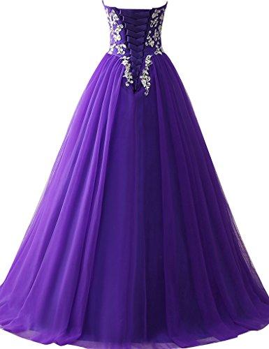 JAEDEN - Robe - Femme Violet