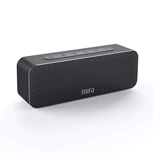 MIFA A20 30W Bluetooth Lautsprecher SoundBox TWS & DSP Technologie, Starkbass, 3,5mm Audioeingang, Micro SD Karte Slot, Mikrofons für iPhone, iPad, Samsung, Huawei, HTC, Echo Dot usw.