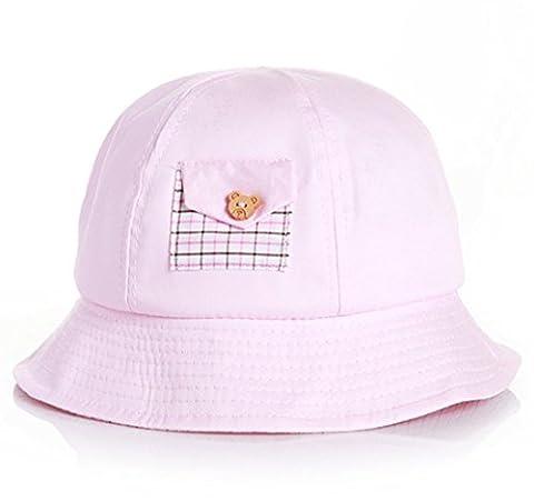 thenice Casquette Chapeau bébé unisexe Protection UV chapeau casquette, rose bonbon, Taille unique