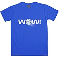 Wow T Shirt - Royal Blue - XL