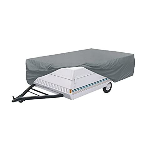 Classic Accessories OverDrive PolyPRO 1 Pop-Up Camper Trailer Cover, Fits