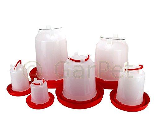 Geflügeltränke automatisch Hühnertränke Stülptränke Hühner Tränke zum Aufhängen oder Hinstellen (Gr.2)