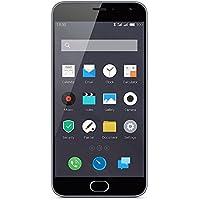 "Meizu M2 Mini - Smartphone de 5"" (4G, WiFi, Bluetooth, dual SIM, Quad Core 1.3 GHz, 2 GB de RAM, 16 GB, cámara 13 MP + 5 MP, Android 5.1), color gris"