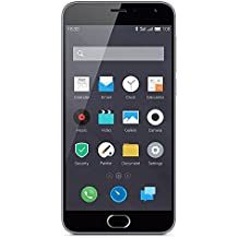 "Meizu M2 Mini - Smartphone de 5"" (4G, WiFi, Bluetooth, dual SIM, Quad Core 1.3 GHz, 2 GB de RAM, 16 GB, cámara 13 MP + 5 MP, Android 5.1), color gris"