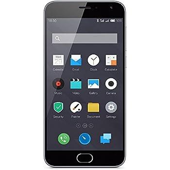 Meizu M2 Smartphone débloqué 4G (Ecran: 5 pouces - 16 Go - Double Nano SIM - Android 5.1 Lollipop) Gris