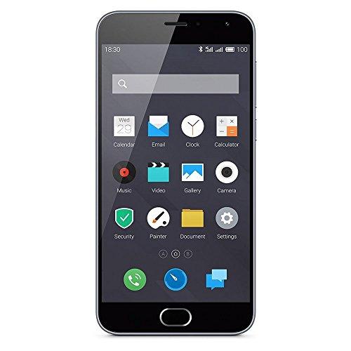 Meizu M2 Smartphone, 16 GB, Dual SIM, Grigio [EU]