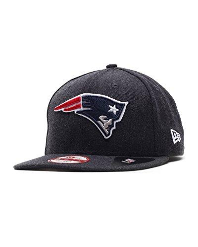 New Era Tonal Team Heather Snap Neepat Otc - Schirmmütze Linie New England Patriots für Herren, Farbe Blau, Größe M-L (Tonale Linien)