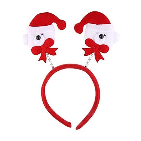 Serre-tête Ours de Noël Fantaisie pour Noël Cadeau