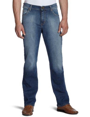 Lee - Jeans Brooklyn Comfort, Regular fit, uomo Blu (Blau (BLAZING AZURE)) 46/48 IT (33W/34L)