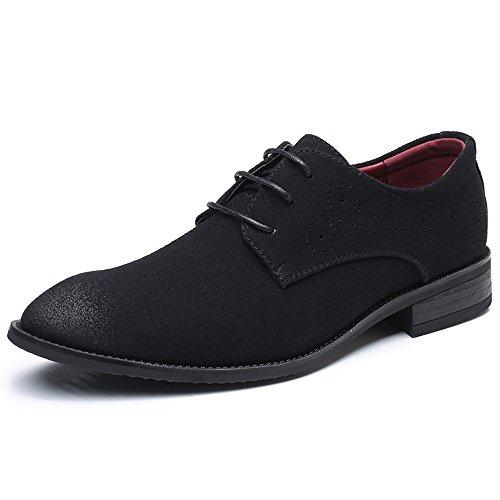bfaf8b5ebca1d0 AARDIMI Schnürhalbschuhe Herren Derby Oxfords Modische Anzug Schuhe  Lace-ups Herren Business Schuhe Hochzeit Schuhe (42