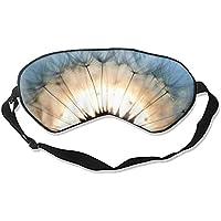 Schlafmaske aus Naturseide, mit Augenbinde, super glatt, Pusteblumen-Motiv preisvergleich bei billige-tabletten.eu