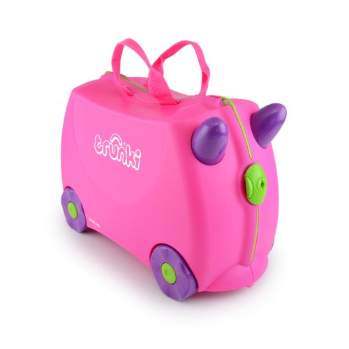 Image of Trunki Ride-on Suitcase - Trixie (Pink)