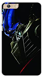 Crazy Beta Power Rangers Design Printed Back Cover For Micromax Canvas Knight 2