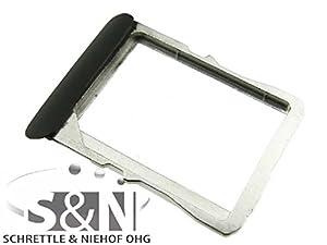 NG-Mobile Original HTC ONE X Sim Tray Simkarten Halter Einschub Schlitten, schwarz