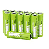 12 x AA Rechargeable 2300mAh 100%PeakPower NiMH Batteries NEWLY released rechargeable batteries