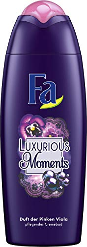 Fa Luxurious Moments Schaumbad, Schwarzer Amethyst und Pinke Viola, 6er Pack (6 x 500 ml)