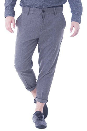 ONLY & SONS - Pantaloni uomo chino tailored cropped chino w28 l30 grigio