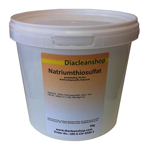 Natriumthiosulfat - Fixiersalz - Na2S2O3 pentahydrat Pharmaqualität 1kg
