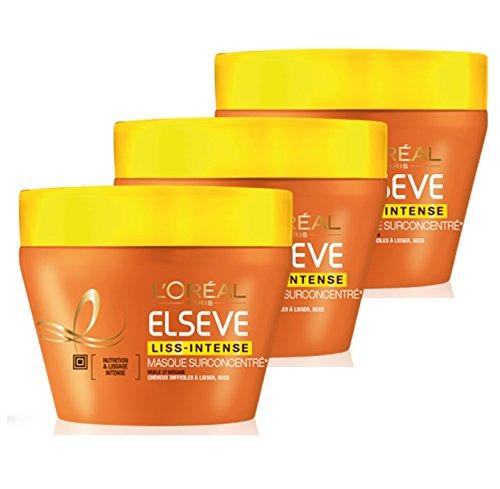 elseve-loreal-paris-masque-liss-intense-72-h-huile-dargan-cheveux-difficiles-a-lisser-300-ml-lot-de-