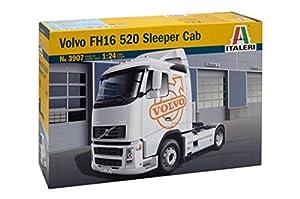 Italeri 1/24 VOLVO FH16 520 cabina dormitorio # 3907 - Juego de Piezas de plástico , Modelos/colores Surtidos, 1 Unidad