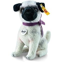 Steiff045035 Little Lielou Peluche de perro pug/carlino