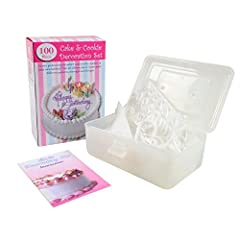 Idea Regalo - Sherwood Home Cake Design Kit - Set di Decorazione Torte da 100 Pezzi con Valigetta